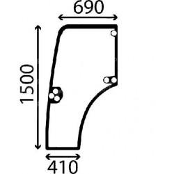 Durvju stikls kreisais Case IH 87301768