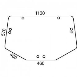 Aizmugurējais stikls John Deere L213351, L171335, L202528